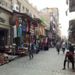 エジプト(8) 2日目午後 ズウェーラ門からハン・ハリーリ市場