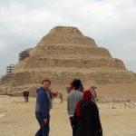 エジプト(11) 3日目昼 メンフィスからサッカーラ