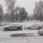 ウズベキスタン1802(15)~5日目(1)雪のサマルカンド