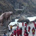 中国・雲南省1712(04)~2日目(1)虎跳峡の濁流